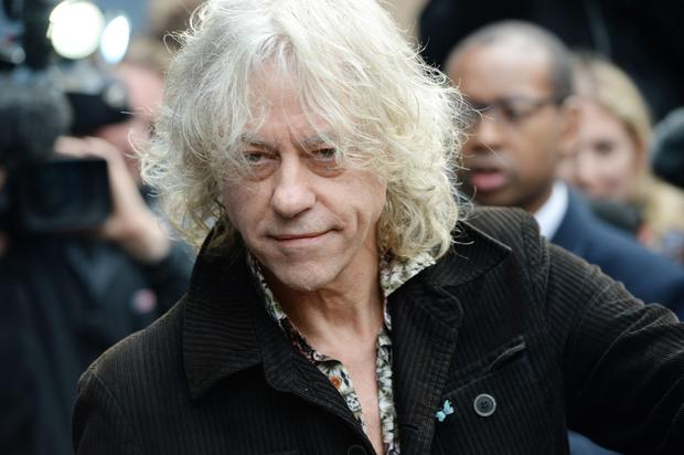 Bob Geldof (pictured) and Mary Robinson are popular speakers