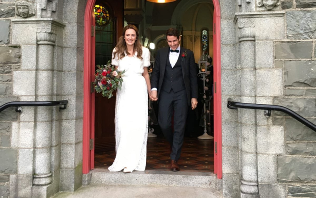 Labour's Ciaran Ahern with his wife Dr Maeve O'Rourke