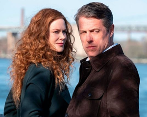 Hugh Grant stars in The Undoing as a paediatric oncologist married to Grace, a Manhattan therapist played by Nicole Kidman