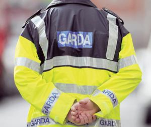 Gardai searched the premises
