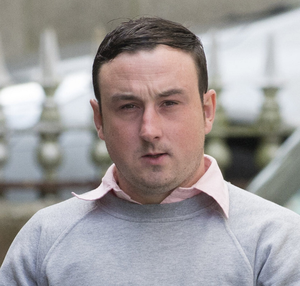 Aaron Brady (pictured) has pleaded not guilty to the murder of Detective Garda Adrian Donohoe, who was shot dead in 2013