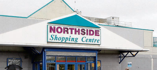 Northside Shopping Centre, Coolock. Photo: Kyran O'Brien