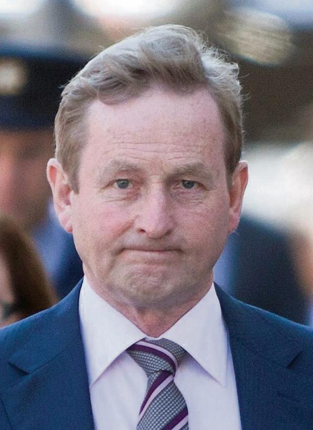 Taoiseach Enda Kenny. Mark Condren