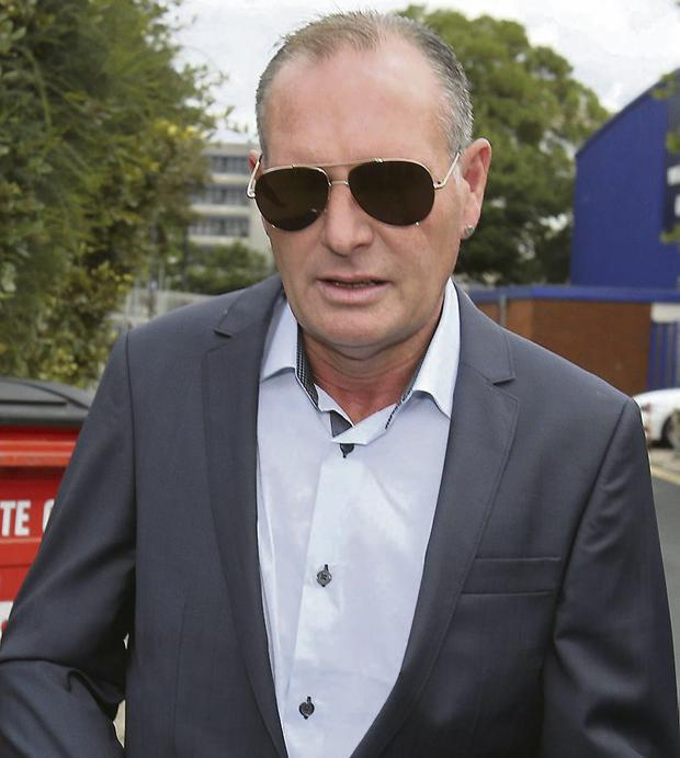 GUILTY: Paul Gascoigne apologised for his behaviour