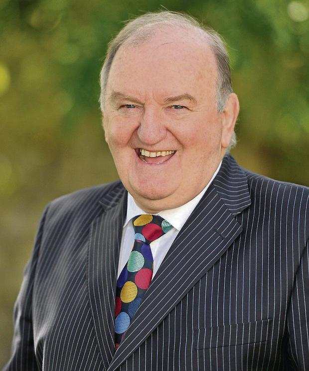 George Hook. Photo: Sportsfile/Brendan Moran