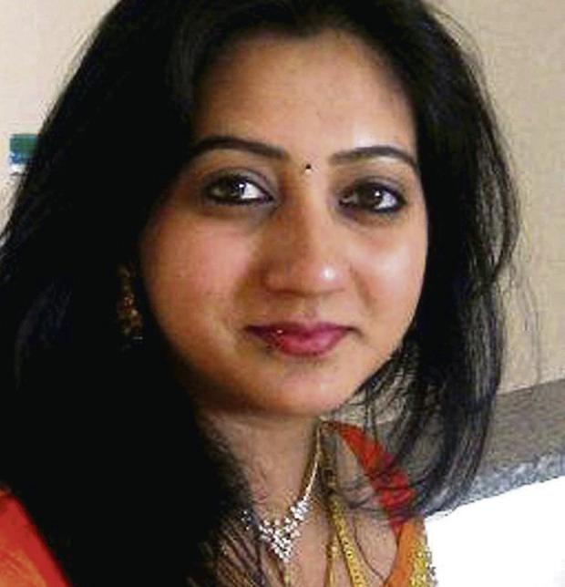 TALENTED: Savita Halappanavar was judged to be the outstanding dancer at the Diwali Festival in 2010