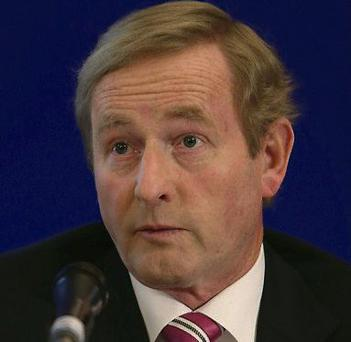 Enda Kenny. Picture: Damien Eagers