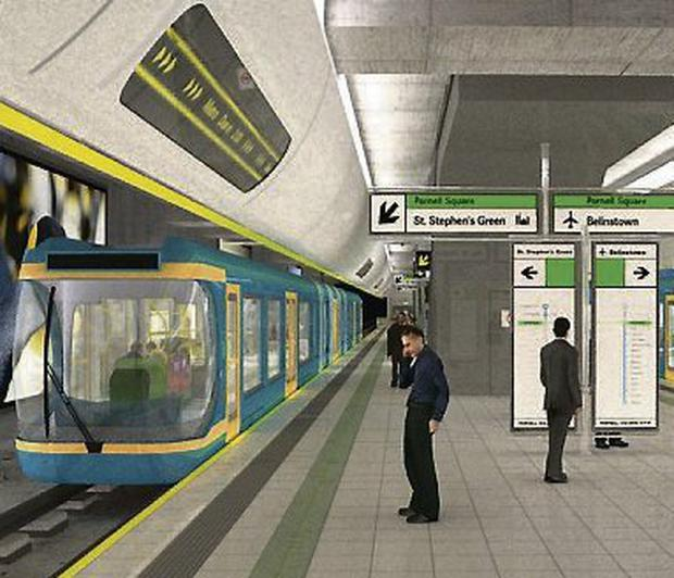 WORK: CGI of an M2 station
