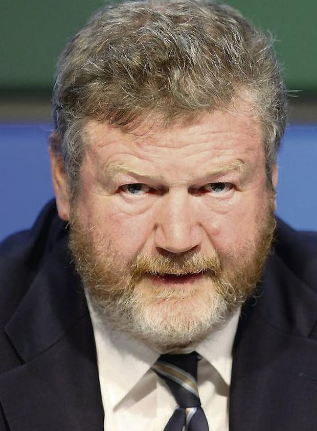 COVER RISE: James Reilly has raised levy on policies