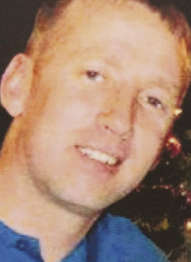 GUNNED DOWN: Alan McNally was murdered