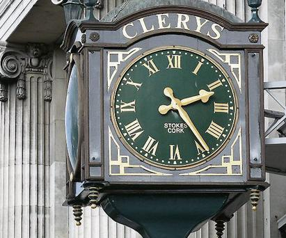 Clerys on O'Connell Street. Photo: Frank McGrath