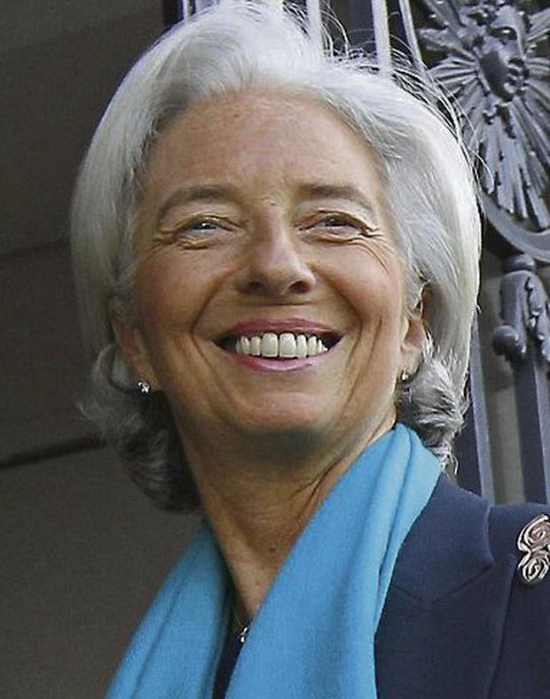 IMF chief Christine Lagarde. Photo: AP/Jacques Brinon