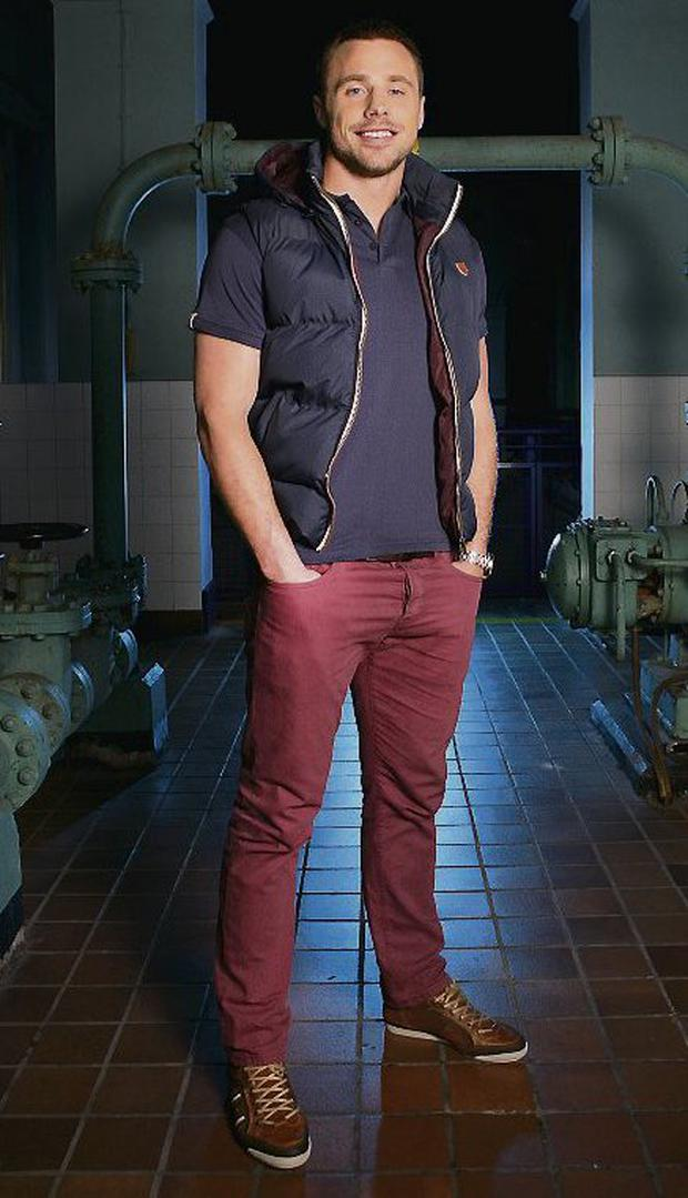 DESIGNS: Tommy Bowe launches his menswear line