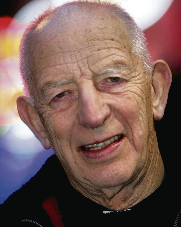 KEY ROLE: Father Alec Reid, who facilitated key talks in the peace process, was thrown into the spotlight when he prayed over a dead soldier