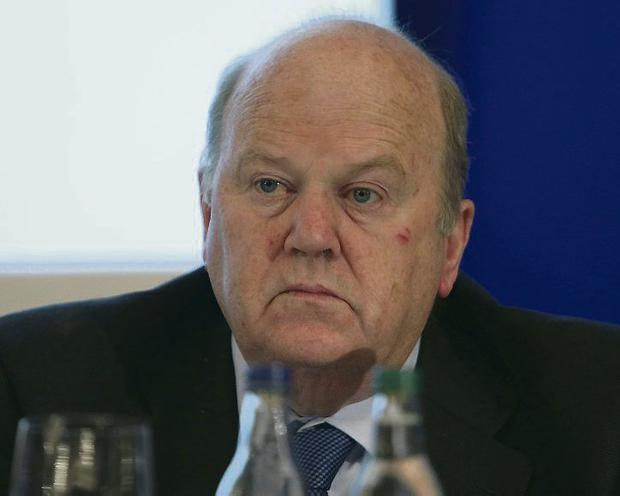 ANGER: Finance Minister Noonan wants top-ups stopped