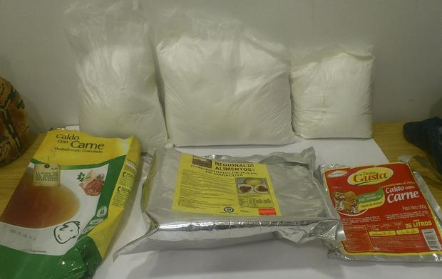 SEIZED: Up to 3kg of cocaine was discovered at airport after woman arrived from Peru