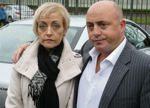 Audrey Fitzpatrick and Dave Mahon