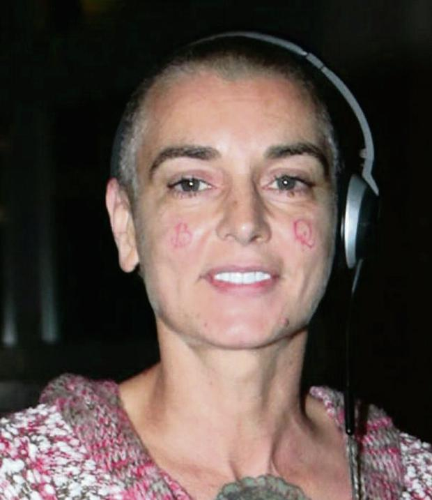 Sinead O'Connor. Photo: Arthur Carron/Collins