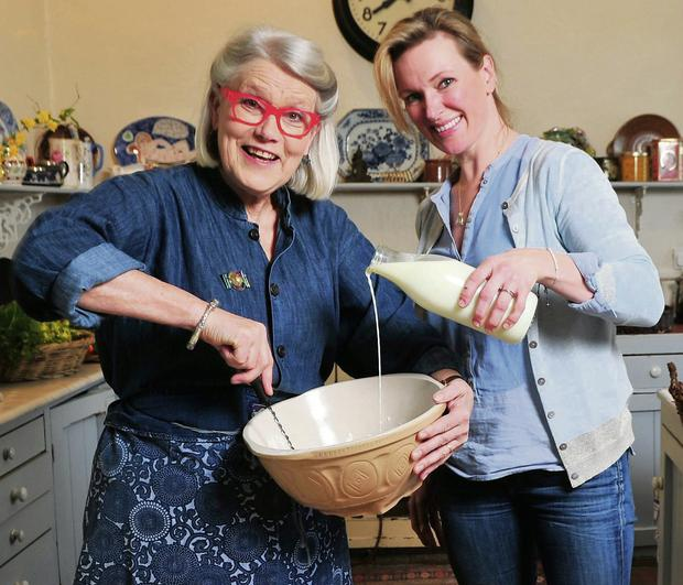 RECIPE FOR SUCCESS: Darina and Rachel Allen started cookery schools at Ballymaloe