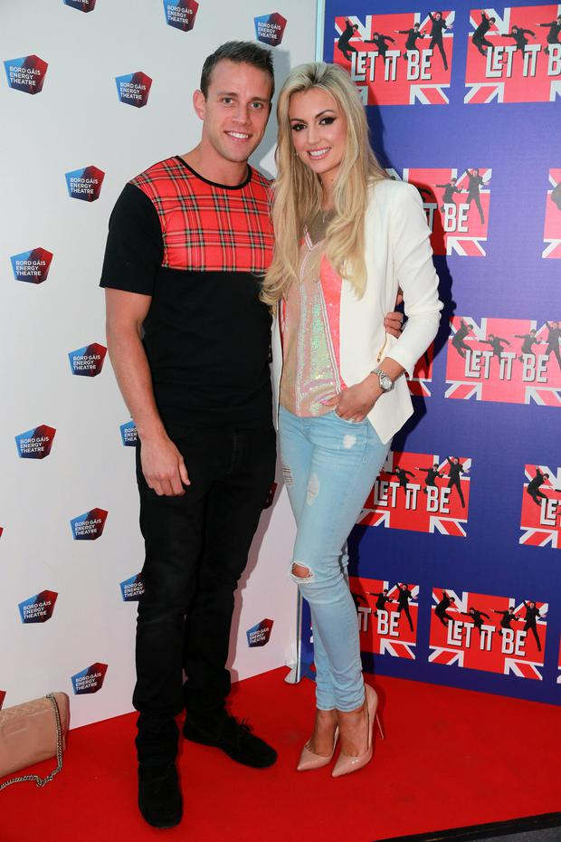 Rosanna Davison and husband Wes Quirke