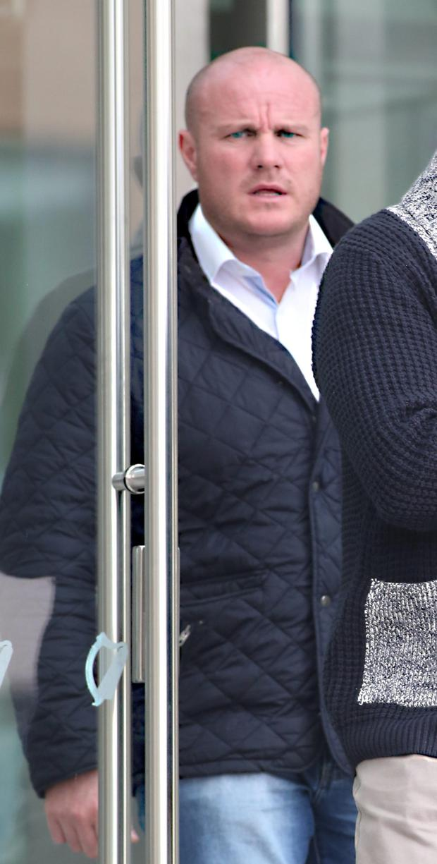 Sean Enright, Rusheen Manor, Clonsilla (Assault) at The Dublin District Courts at THe CCJ yesterday.