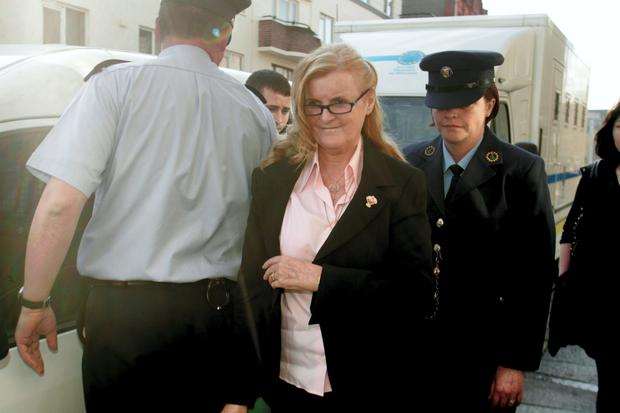 Catherine Nevin arriving at the Court of Criminal Appeal. Photo: Garrett White/Collins