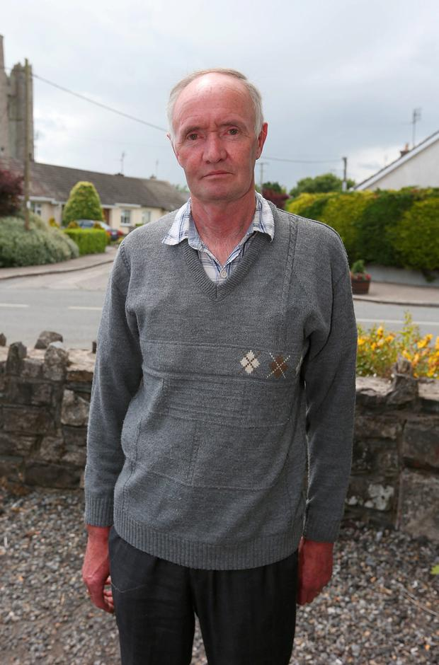 Kevin McDonnell, from Lusk, where James Reilly, Minister for Health has his constituency office. Photo: Damien Eagers