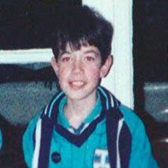 Philip Cairns who went missing in Rathfarnham in 1986