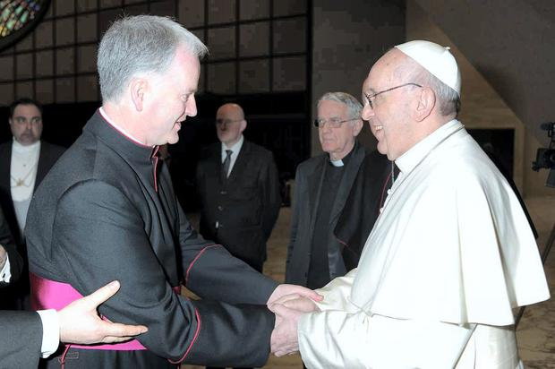 Monsignor Tighe and Pope Francis