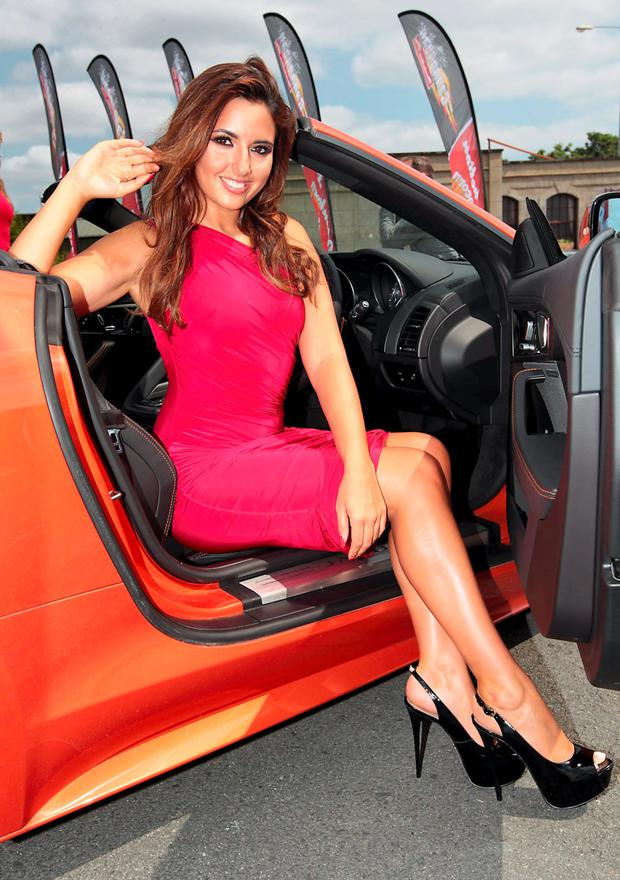 Nadia Forde at the launch of Cannonball 5 sponsored by Manhattan Popcorn which takes place from August 23rd to 25th this year. Photo: Brian McEvoy