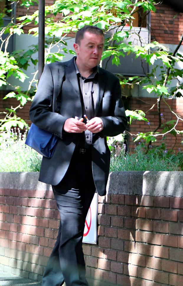 Alan Brady pictured at The Employment Appeals Tribunal yesterday.