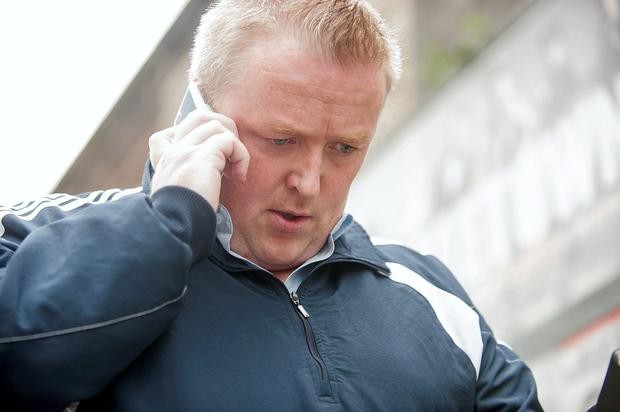 Brian Mulvihill leaving Dublin Circuit Criminal Court. Photo: Collins Courts.