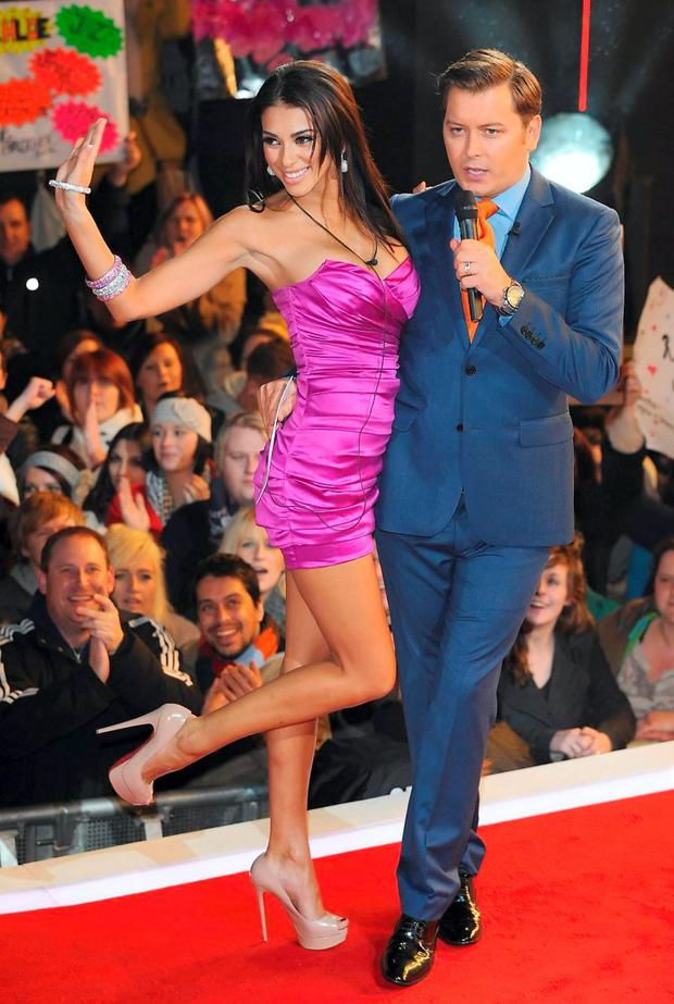 Brian Dowling with Georgia Salpa