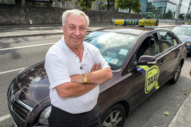 Sean O'Donovan, who has been driving for 25 years, said there is no reason to refuse a blind passenger with a guide dog