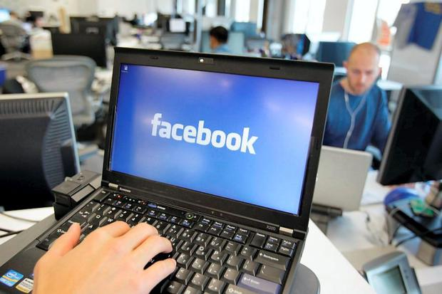 Staff are spending time on Facebook