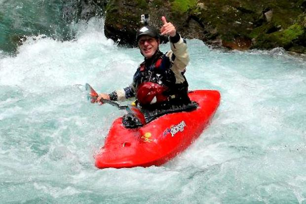 Canoeist Niall Power