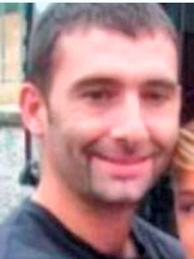 Benny Whitehouse who was shot dead in Balbriggan on 25/9/2014