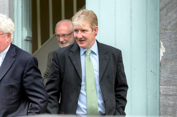 Philip Fenton pictured at Carrick on Suir District court.