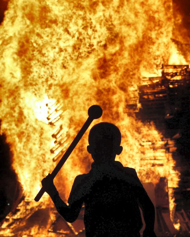 Concern: Illegal bonfires are particularly dangerous