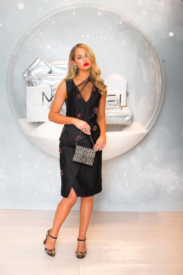 Top model Thalia Heffernan will be on hand to launch The Marvel Room at Brown Thomas, Dublin