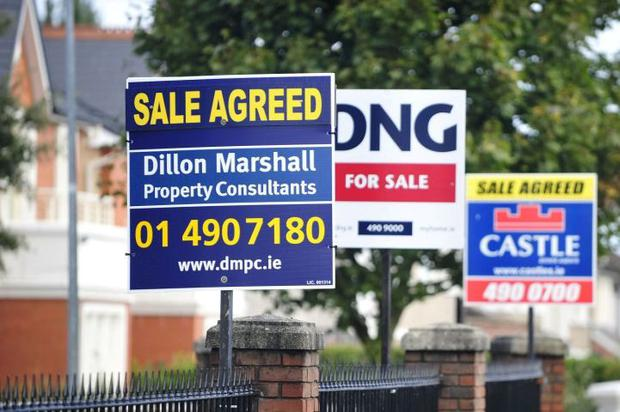 For sale signs in Dublin