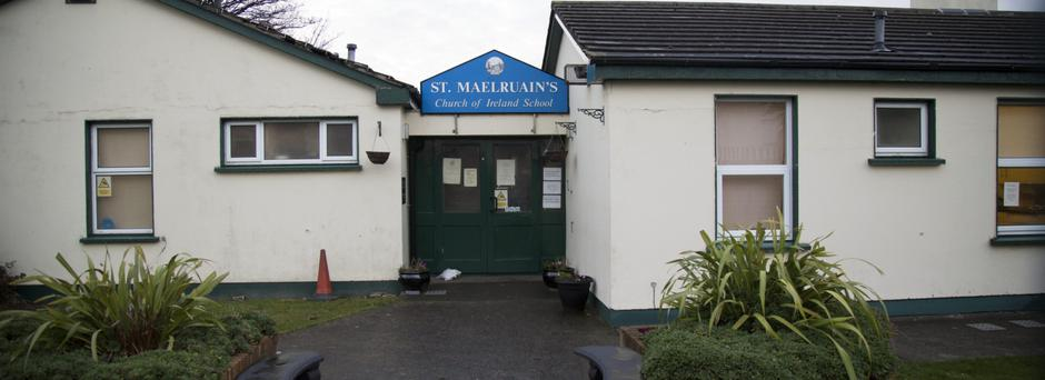 St. Maelruain's Church of Ireland School, a small primary school run under the ethos of the Church of Ireland in Kilclare Avenue, Tallaght