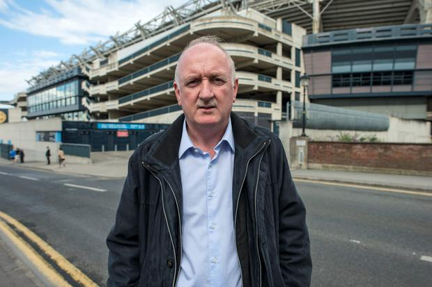 Councillor Niall Ring outside Croke Park