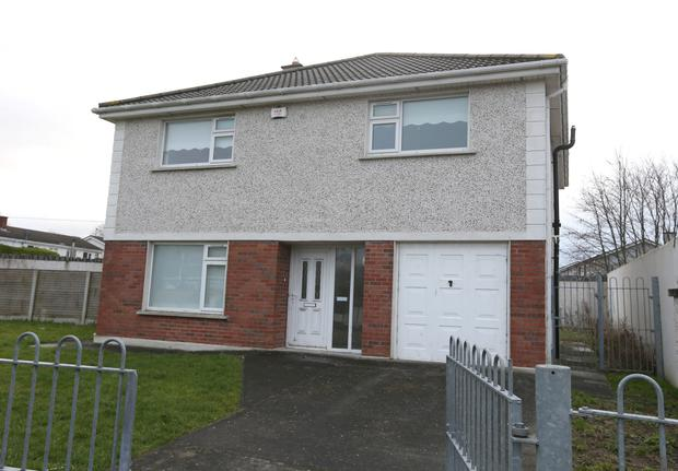 A detached house on 1a St Patricks Road in Clondalkin, the house has not been lived in since it was built