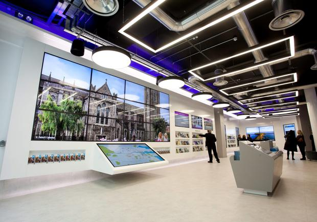 The Suffolk Street office branded Visit Dublin will include interactive displays such as a social media and app wall.