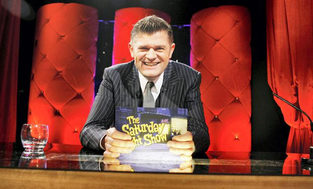 Brendan O'Connor hosts The Satuday Night Show on RTE