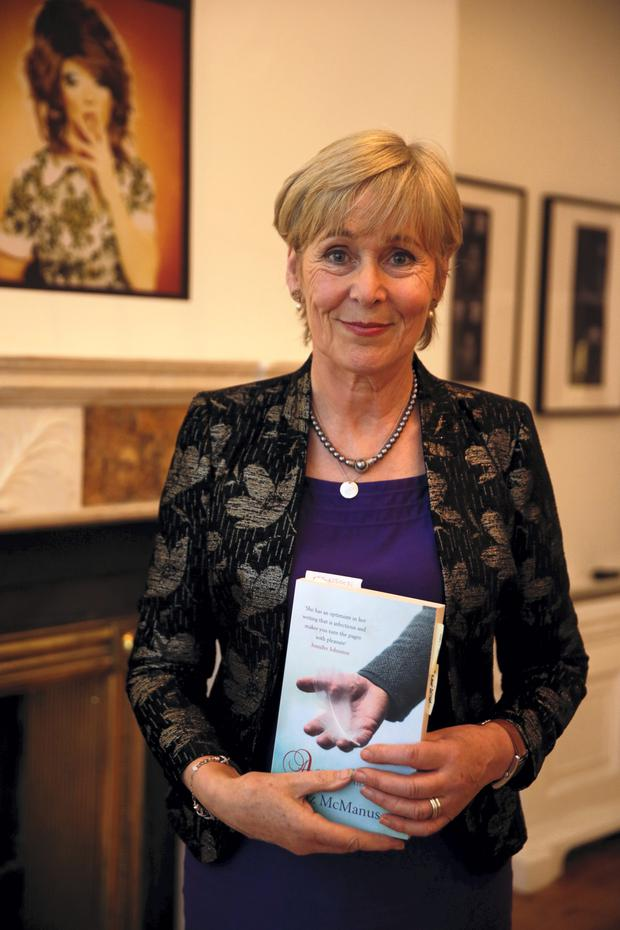 10/2/15 Liz McManus at the launch of of her Novel
