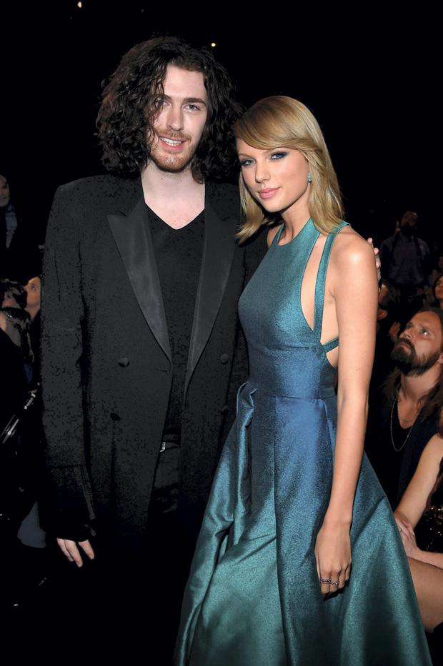 Hozier with Taylor Swift