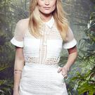 Laura Whitmore during filming of I'm a Celebrity: Get Me Out of Here Now