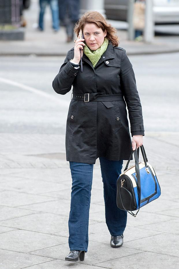 Witness Emer McShea at Dublin Central Criminal Court where she gave evidence in the trial of Graham Dwyer